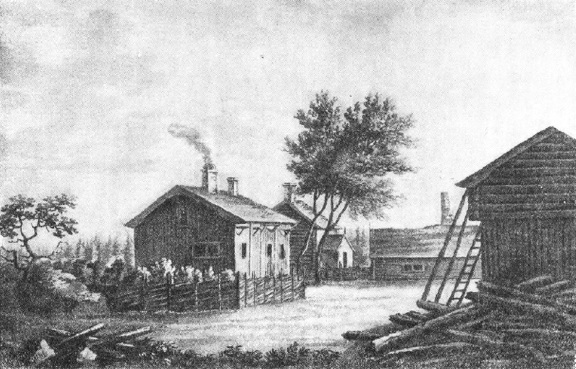 Дом в Росхульте, в котором родился Линней
