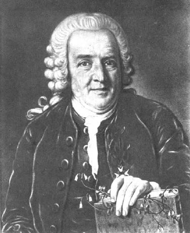 Карл Линней в возрасте 64 лет